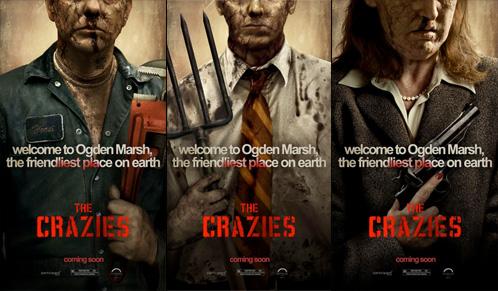 Tres carteles de The Crazies salidos de IMPAwards