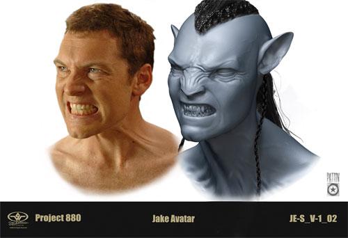 Detalle de las pruebas realizadas por Sam Worthington para Avatar