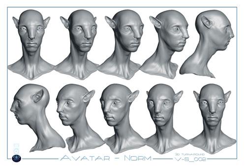 Detalle de las pruebas realizadas para obtener los Na'vi de Avatar