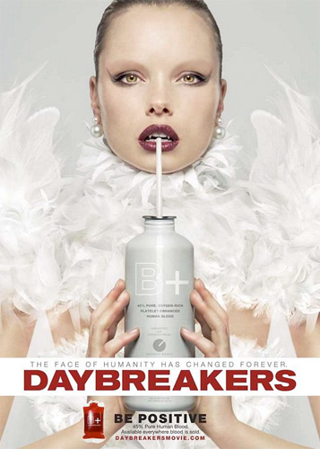 Cartel de Daybreakers... se positivo