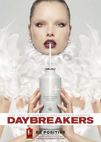 Cartel de Daybreakers... se positivo