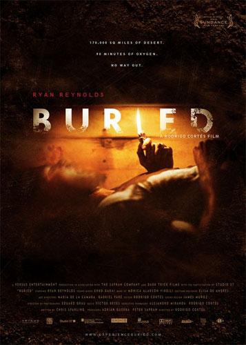 "Póster de ""Buried"" para el festival de Sundance"