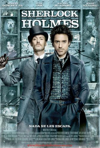 Póster español de Sherlock Holmes