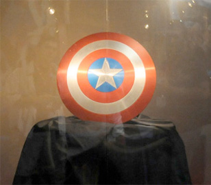 Marvel Studios presenta el escudo de Captain America: The First Avenger