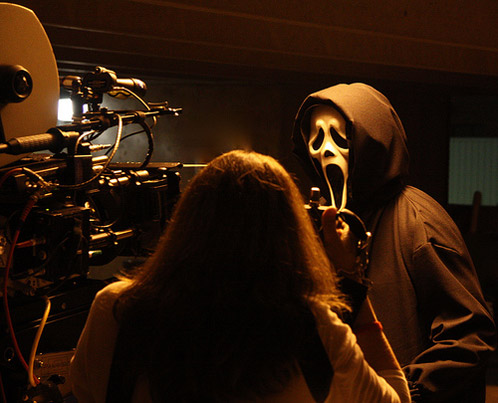 Primera imagen de Ghost Face en Scream 4