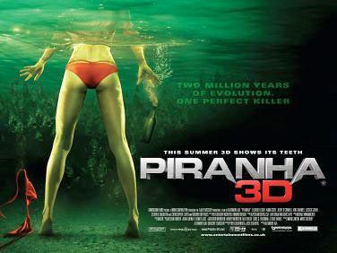 Nuevo póster de de Piranha 3D