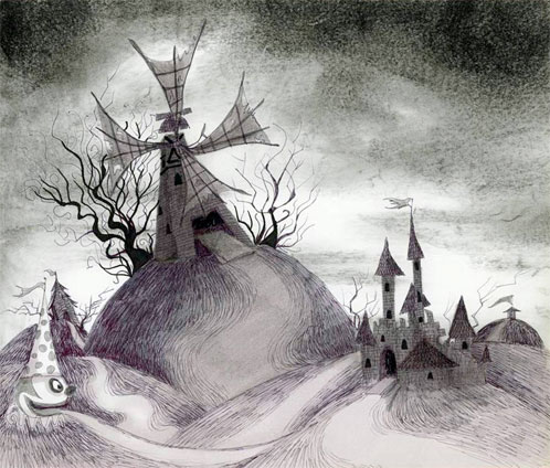 Uno de los diseño de Tim Burton para el nuevo Frankenweenie