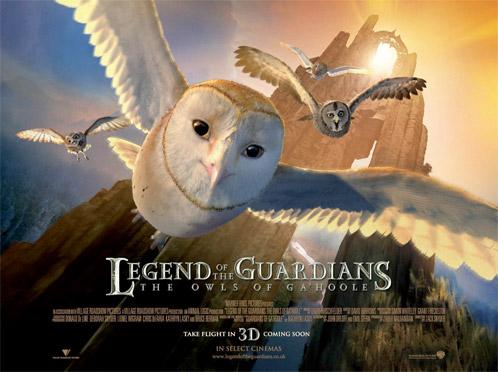 Otro póster más de Ga'Hoole: La leyenda de los guardianes