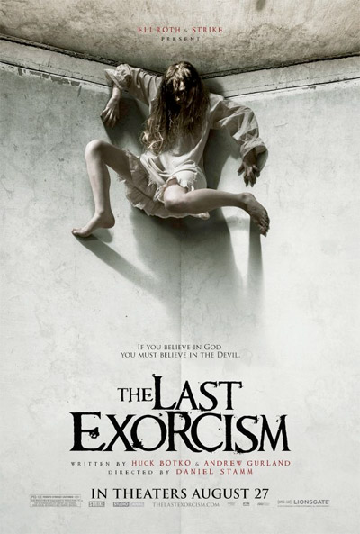 Nuevo cartel de The Last Exorcism... ¿y esto va a ser PG-13?
