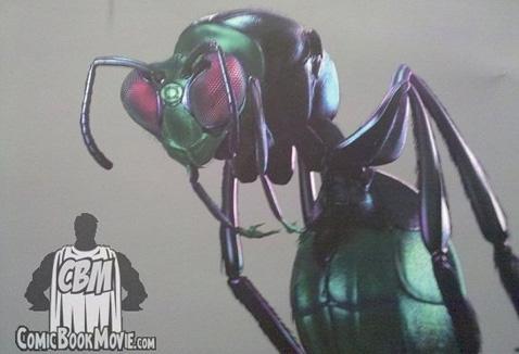 Supuesto aspecto de Bzzd en Green Lantern