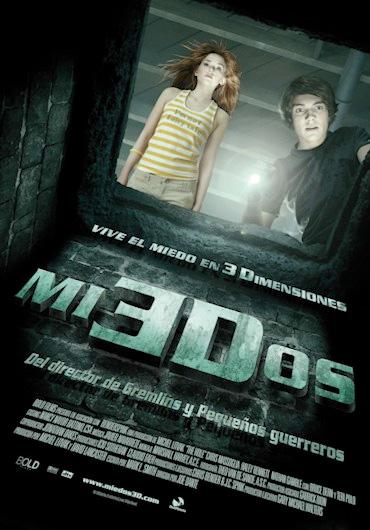 Cartel español de Miedos 3D