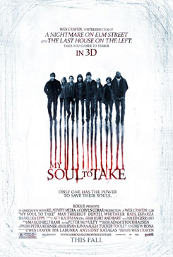 Cartel de My Soul to Take