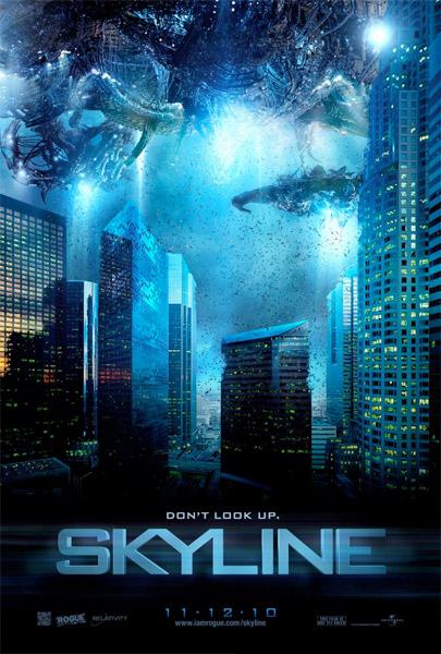 Primer cartel de Skyline a.k.a. la aspiradora del espacio