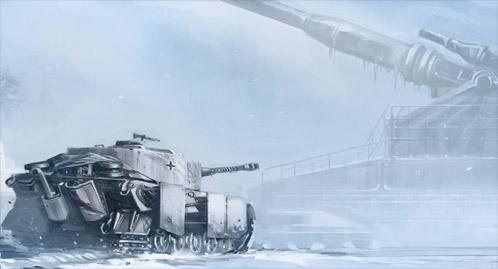 Concept Art para Panzer 88