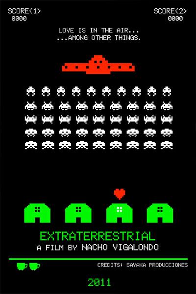 Promo póster de Extraterrestre de Nacho Vigalondo para e Fantastic Fest