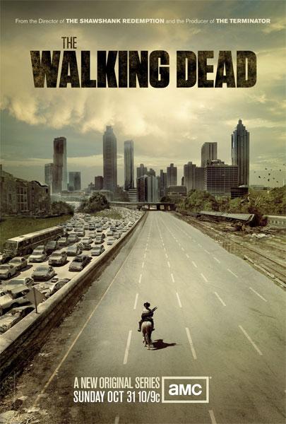 """Alucinante cartel oficial de la serie """"The Walking Dead"""""""
