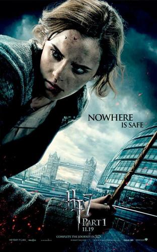 Nuevo póster de Harry Potter y las reliquias de la muerte (1ª parte)