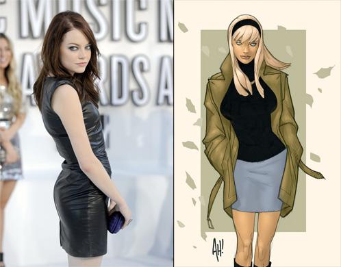 Emma Stone será Gwen Stacy