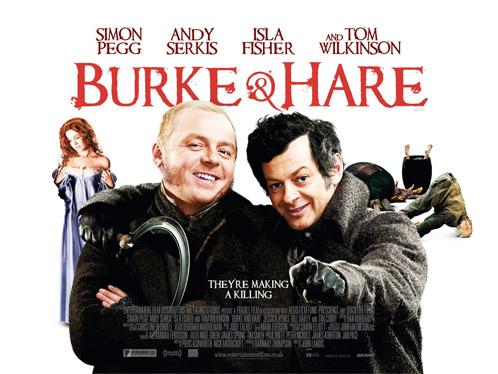 Póster internacional de Burke & Hare