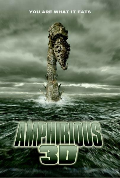Póster de Amphibious 3D de Brian Yuzna