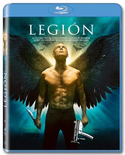Edición en Blu-Ray de Legión