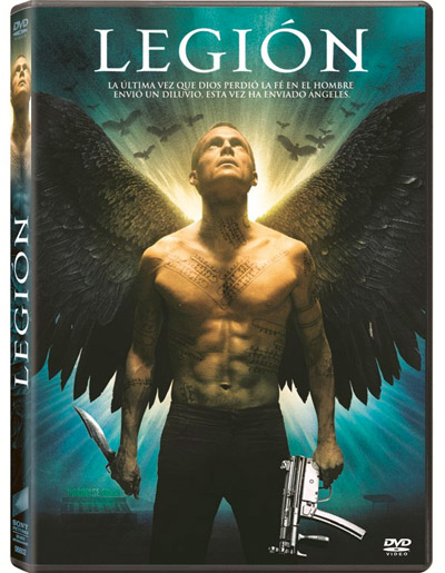 Edición en DVD de Legión