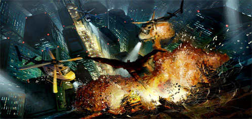 Supuesto concept art de The Dark Knight Rises
