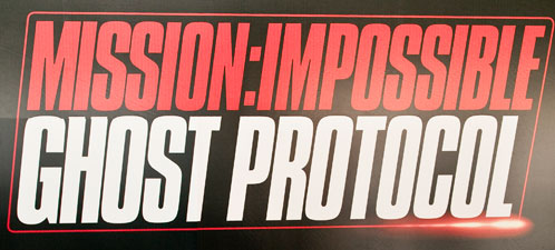 Logo de Mission: Impossible Ghost Protocol