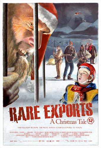 Primer póster de Rare Exports: A Christmas Tale, la triunfadora de Sitges 2010