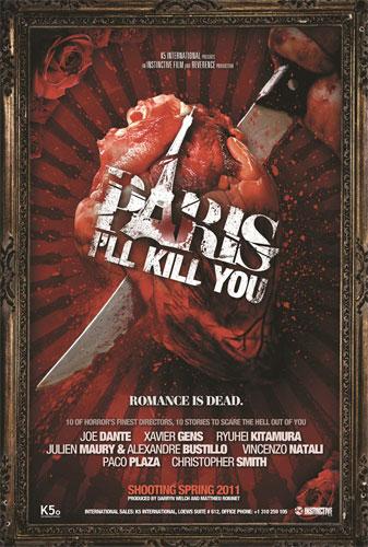 Primer cartel de Paris I'll Kill You