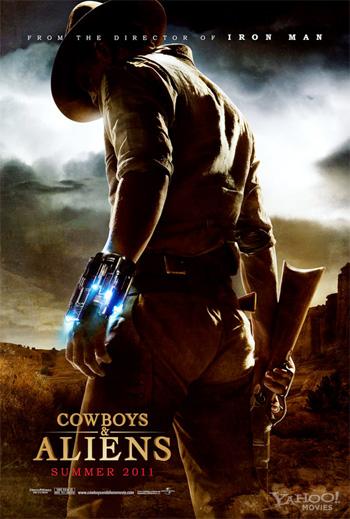 Primer cartel de Cowboys & Aliens de Jon Favreau