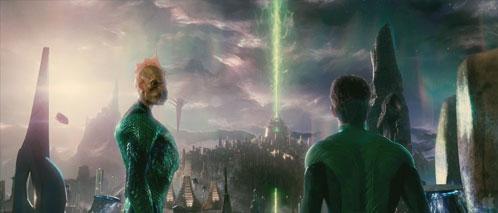 Tomar-Re y Hal Jordan en Oa