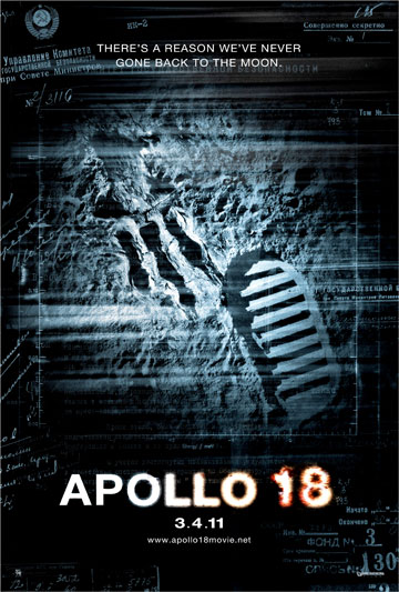 Primer cartel de Apollo 18