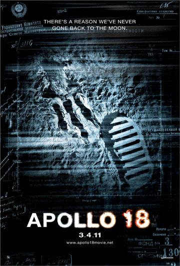Primer cartel de Apollo 18