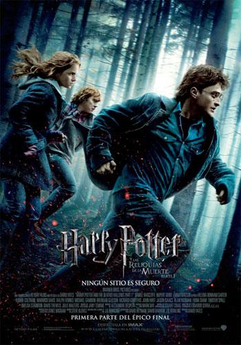 Póster español de Harry Potter y las reliquias de la muerte (1ª parte)