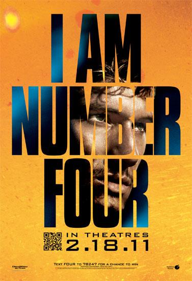 Otro póster de Soy el número 4