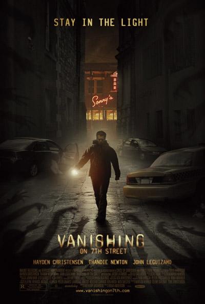 Nuevo cartel de la poco interesante Vanishing on 7th Street