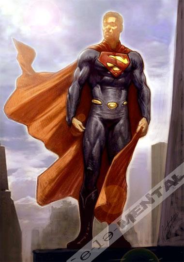 Concept Art del Superman que nunca fue obra de Steve Johnson y Edge FX