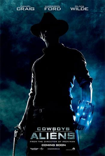 Nuevo cartel de Cowboys & Aliens
