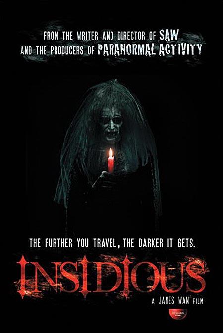 Primer cartel de Insidious de James Wan