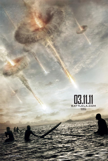 Nuevo cartel de Battle: Los Angeles