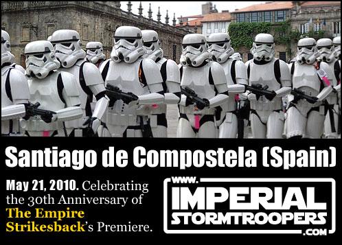 Imperial StormTroppers en Santiago de Compostela. 21 de Mayo del 2010
