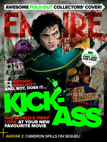 Portada Empire dedicada a Kick-Ass (1/3)
