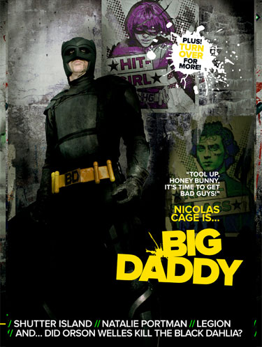 Portada Empire dedicada a Kick-Ass (3/3)