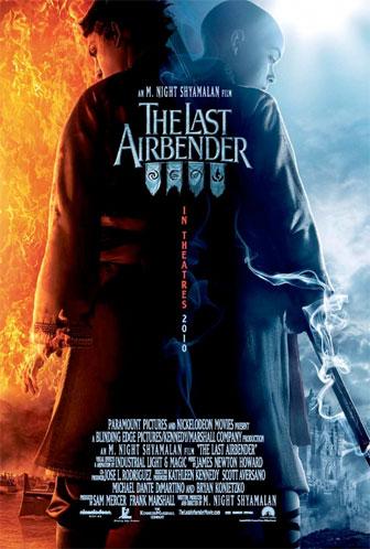 Póster internacional de The Last Airbender