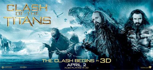 Nuevo cartel de Furia de Titanes en 3-D: Hades, Zeus y alguna de las criaturas