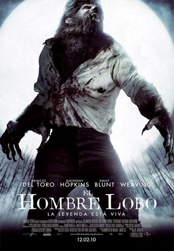 Cartel de El hombre lobo / The Wolfman