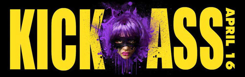 Cartel de Kick-Ass - Hit-Girl