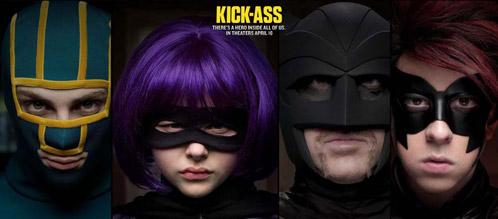Cartel de Kick-Ass - por la noche
