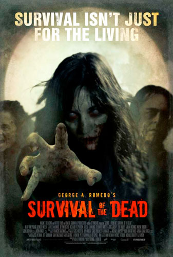 Nuevo cartel de Survival of the Dead de George A. Romero
